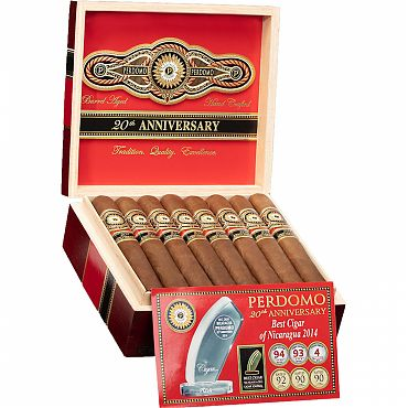Perdomo 20th Anniv. Sun Grown Robusto